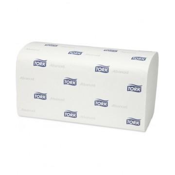 Lapiniai popieriniai rankšluosčiai TORK Advanced Soft (H3), 290163, V lenk., 250 serv., 1 pak.